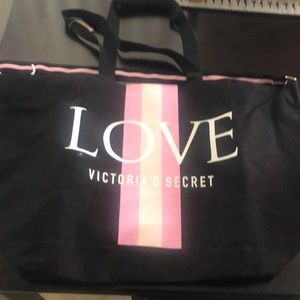 PINK Victoria's Secret Bags - New VS over night, gym or anything bag.